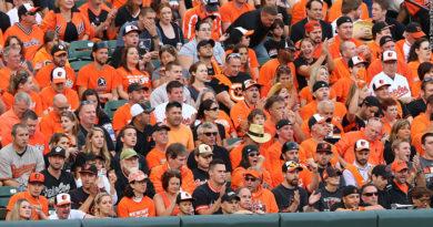 Orioles fans 2014
