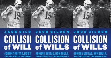 Best sports book, Collision of Wills