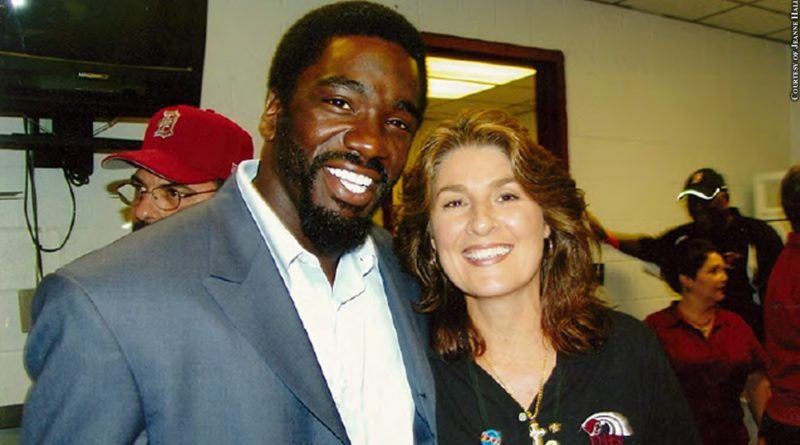 Ed Reed with Jeanne Hall
