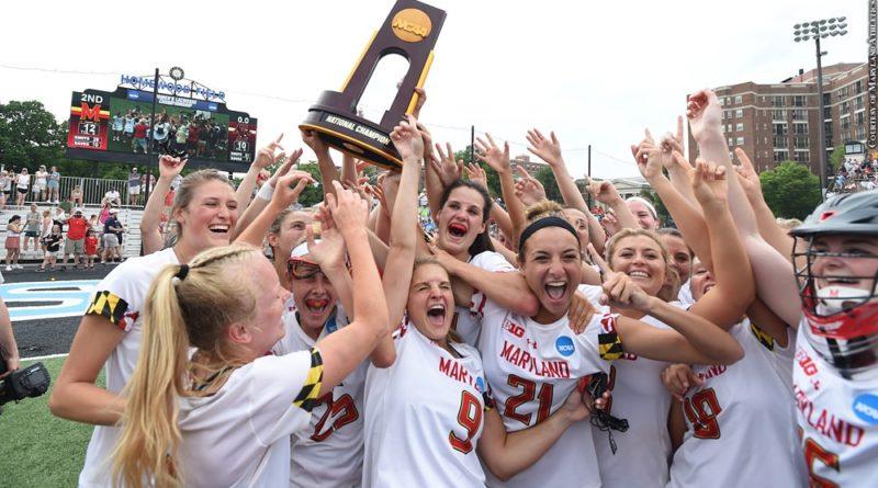 Maryland women's lacrosse 2019 champions