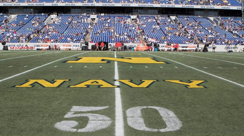 Navy football field