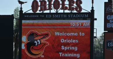 Orioles spring training