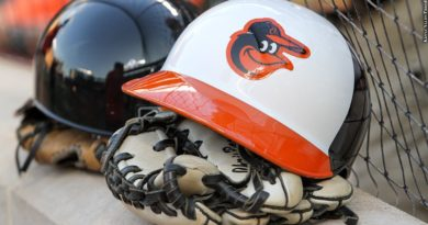 Orioles helmet