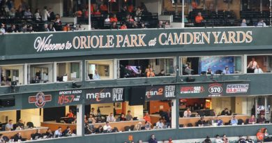 Oriole Park at Camden Yards, press box