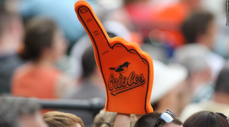 Orioles foam finger