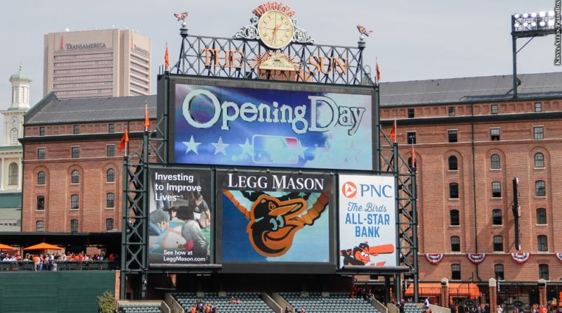 Oriole Park at Camden Yards, Opening Day