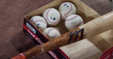 baseballs and bat