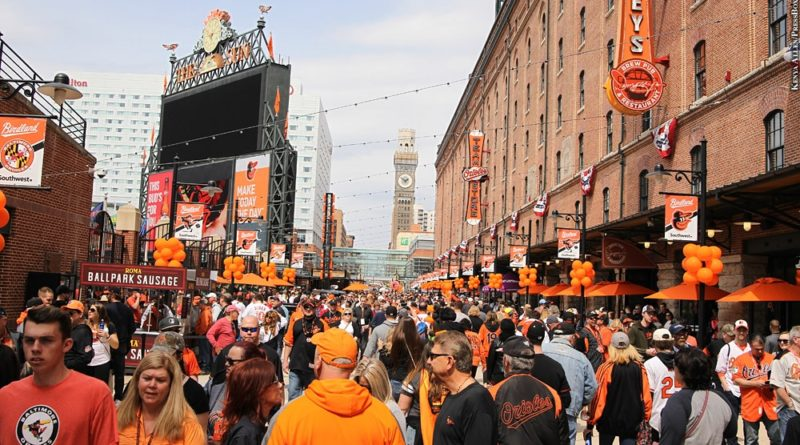 Oriole Park at Camden Yards, Eutaw Street