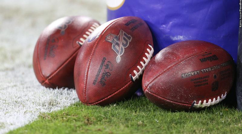 Ravens footballs