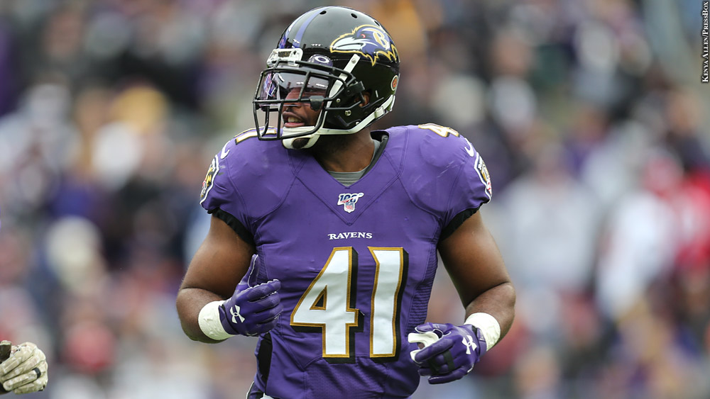 Anthony Levine Sr. On Re-Signing With Ravens: 'I Knew … It Was ...