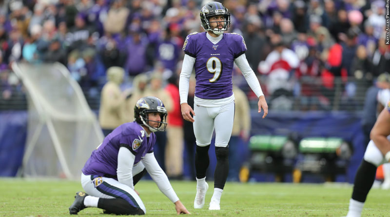 Aside From Justin Tucker Ravens Special Teams Experience Sharp Decline In 2019 Pressboxonline Com
