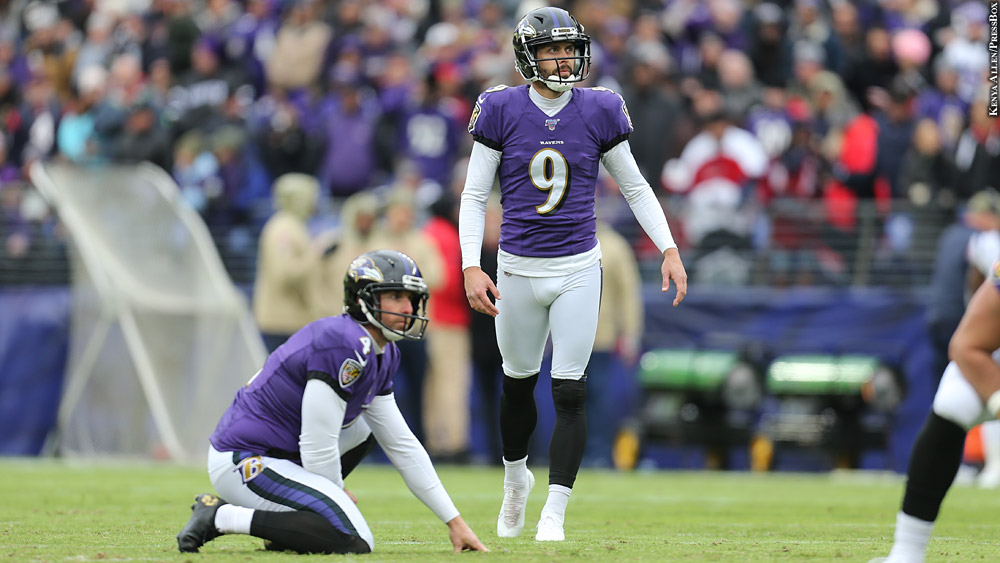 Aside From Justin Tucker, Ravens Special Teams Experience Sharp ...