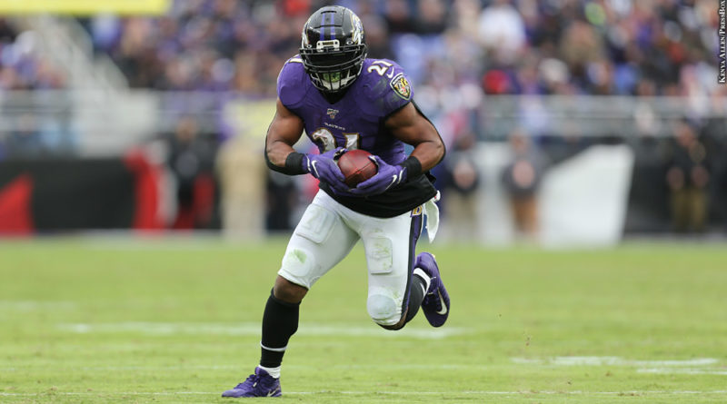 Mark Ingram Brings Infectious Energy, Hard-Nosed Running To Ravens -  PressBoxOnline.com