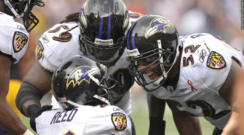 Ray Lewis, Ed Reed, Dannell Ellerbe