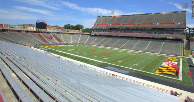 Terps football field
