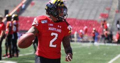 Maryland RB Lorenzo Harrison On Stepping Away From Football