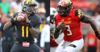 Terps QBs: Hill, Pigrome