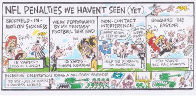 Ricig: NFL penalties we haven't seen (yet)