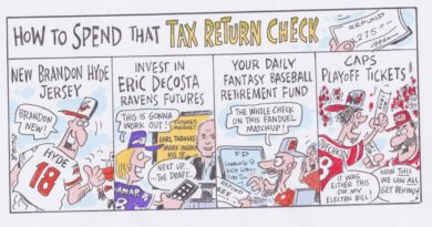 Ricig: How To Spend That Tax Return Check