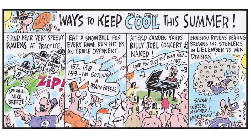 Ricig: ways to keep cool this summer