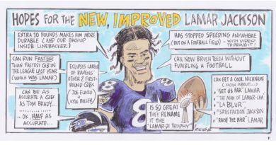Ricig: hopes for the new, improved Lamar Jackson