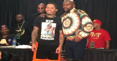 Gervonta Davis and Floyd Mayweather