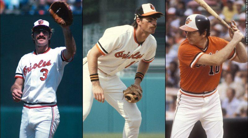 Bobby Grich, Doug Decinces, Terry Crowley