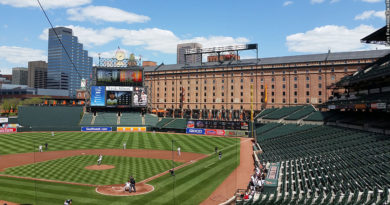 Orioles 2015 game with no fans