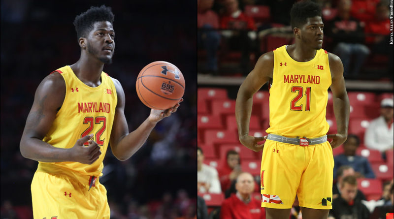Terps Mitchell twins