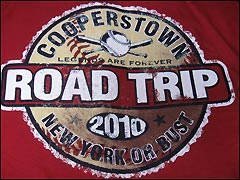 Jim Henneman Cooperstown road trip