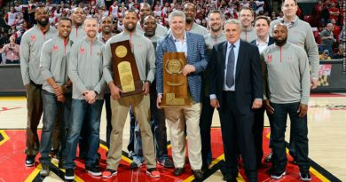 Terps 2002 championship team at 15 year anniversary