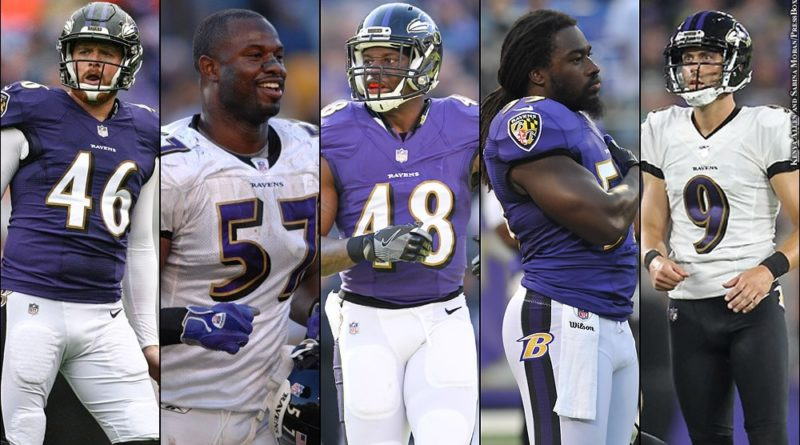Ravens undrafted free agents