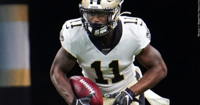 Deonte Harris (Photo Credit: Michael C. Hebert/New Orleans Saints)