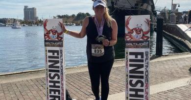 Nikki Bozeman, 2019 Baltimore Marathon