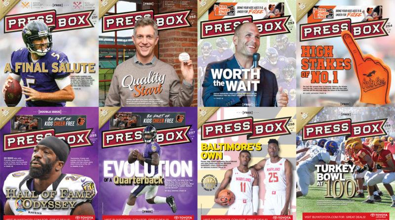 PressBox 2019 covers