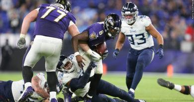Ravens vs. Titans: Lamar Jackson