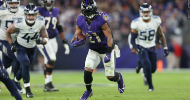 Ravens vs. Titans: Mark Ingram
