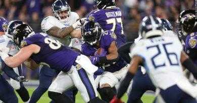 Ravens vs. Titans: Mark Ingram
