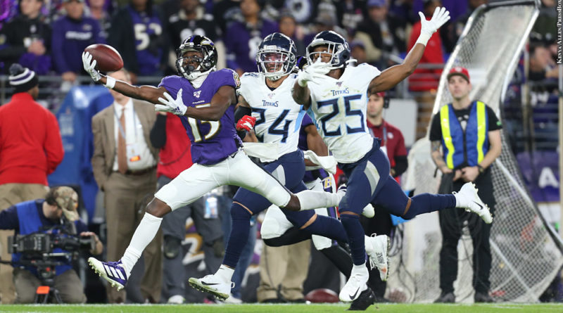 Ravens vs. Titans: Marquise Brown