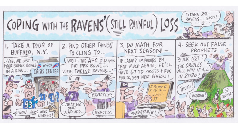 Ricig: Coping With The Ravens' (Still Painful) Loss