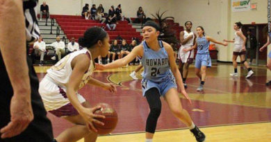 Howard Girls' Basketball 2020: Camille Malagar