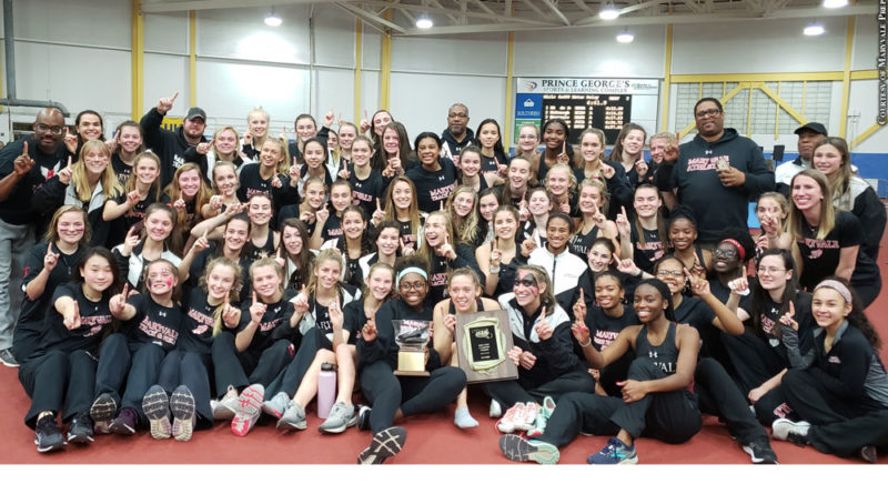 Maryvale Prep indoor track and field
