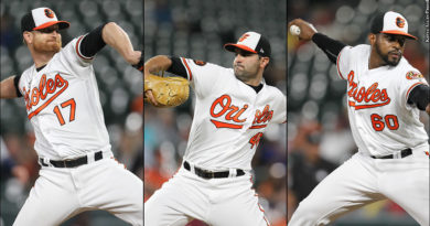 Alex Cobb, Richard Bleier, Mychal Givens