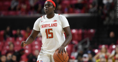 Maryland Women's Basketball 2020: Ashley Owusu (Photo Credit: Courtesy of Maryland Athletics)