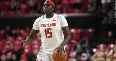 Maryland Women's Basketball 2020: Ashley Owusu (Photo Credit: Courtesy of Maryland Athletics)