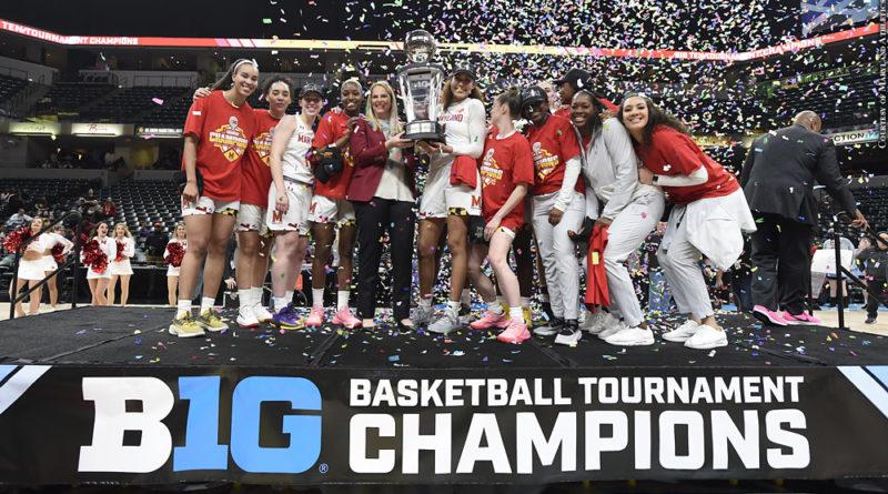 Maryland women's basketball, big ten tournament champions