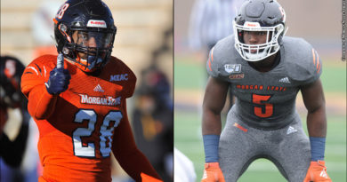 Morgan State Football 2019: Rico Kennedy and Ian McBorrough