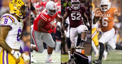 NFL Draft 2020: Patrick Queen, J.K. Dobbins, Justin Madubuike and Devin Duvernay