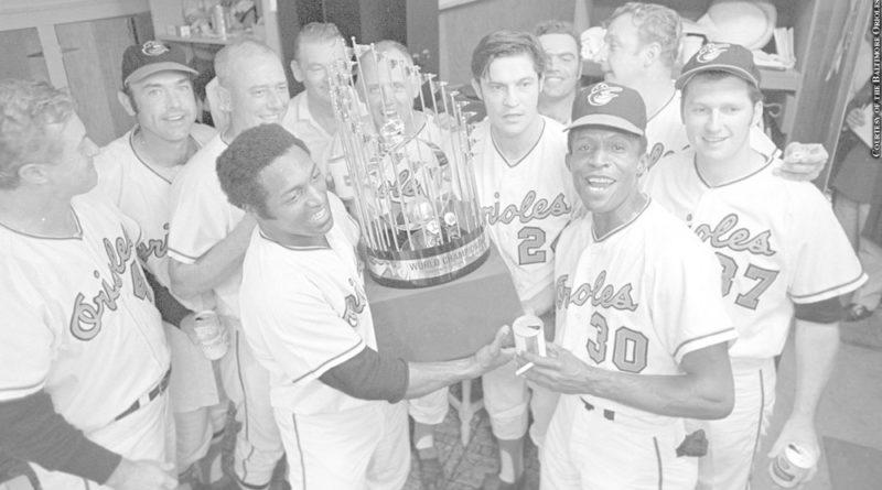 1970 Orioles trophy