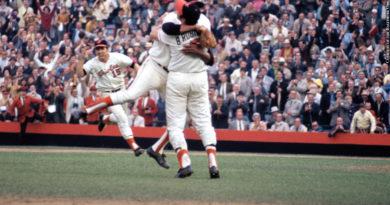 1970 Orioles celebration